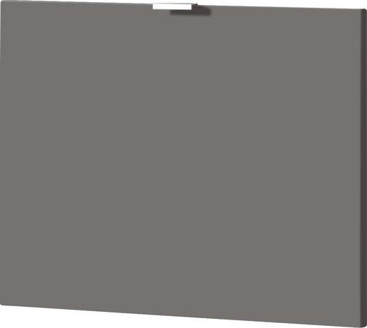KLAPPE 52/42/2 cm Dunkelgrau - Dunkelgrau, Design (52/42/2cm) - Xora