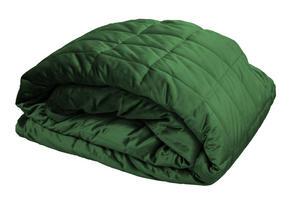 SÄNGÖVERKAST - mörkgrön, Design, textil (260/260cm)
