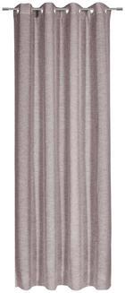 ÖSENSCHAL  halbtransparent  140/245 cm - Taupe, KONVENTIONELL, Textil (140/245cm) - ESPOSA