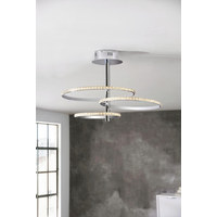 LED-DECKENLEUCHTE - Design, Metall (45/41cm) - Ambiente