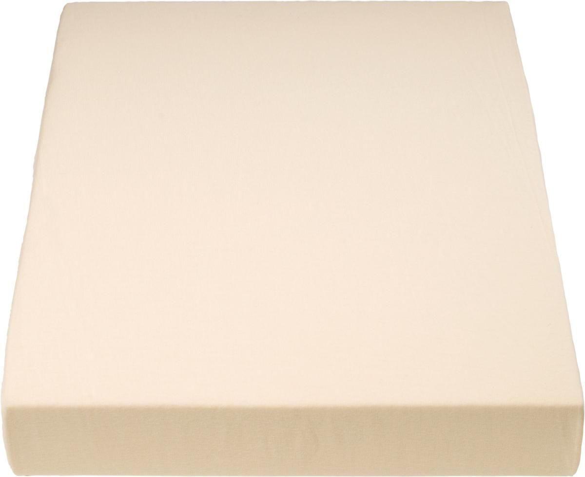 PLAHTA S GUMICOM - svijetlo žuta, Basics, tekstil (180/200cm) - SCHLAFGUT