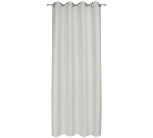 ÖSENVORHANG blickdicht  - Weiß, Trend, Textil (140/245cm) - Esposa