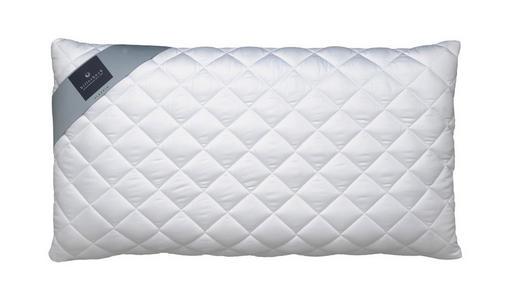 ANATOMSKI VZGLAVNIK - bela, Konvencionalno, tekstil (40/80cm) - BILLERBECK