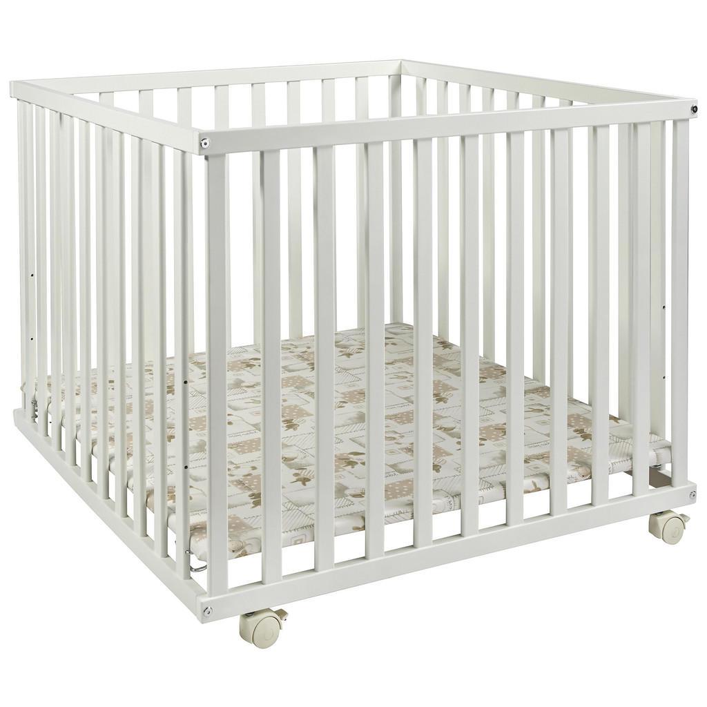 My Baby Lou LAUFGITTER 100/100/70 cm, Weiß   Kinderzimmer > Babymöbel > Lauf- & Schutzgitter   Weiß   Kunststoff   My Baby Lou