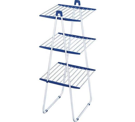 SUŠÁK NA PRÁDLO - bílá/modrá, Basics (155/66/61cm) - Leifheit