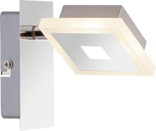 LED-STRAHLER - Chromfarben, Design, Kunststoff/Metall (9/11cm) - Novel