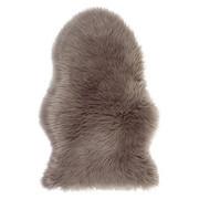 Schaffellimitat  60/90 cm  Taupe   - Taupe, Basics, Textil (60/90cm) - Boxxx