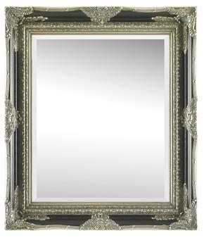 SPEGEL - silver/svart, Lifestyle, trä/glas (70/80/6,1cm) - Landscape