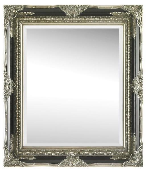 OGLEDALO - boje srebra/crna, Lifestyle, staklo/drvo (70/80/6,1cm) - Landscape