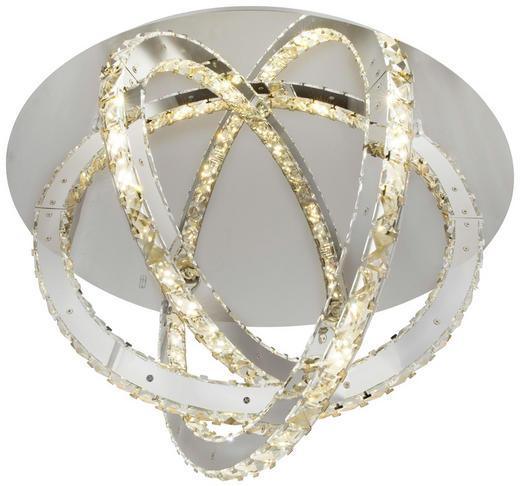 LED-DECKENLEUCHTE - Design, Glas/Metall (65/38cm)
