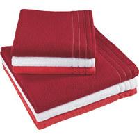 VOSSEN. HANDTUCH 50/100 Cm   Rot, Basics, Textil (50/100cm) ...