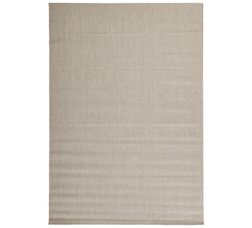 FLACHWEBETEPPICH IN-/ OUTDOOR  60/110 cm  Taupe   - Taupe, Basics, Textil (60/110cm) - Boxxx