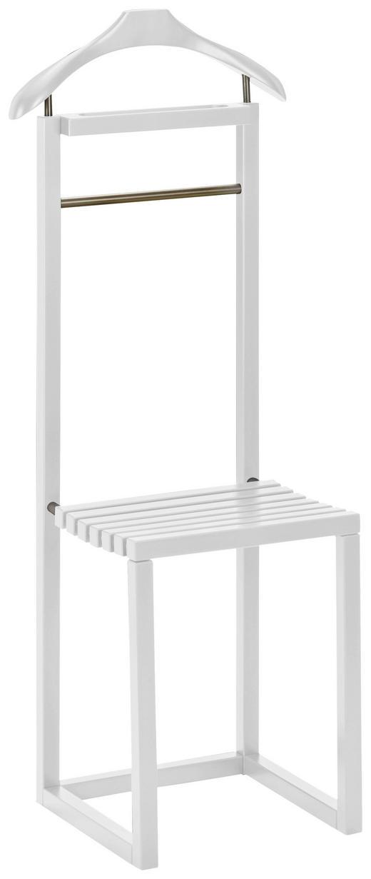 HERRENDIENER Weiß - Weiß, KONVENTIONELL, Holz (45/115/34cm)