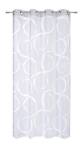 ÖLJETTLÄNGD - vit, Klassisk, textil (135/245cm) - Esposa