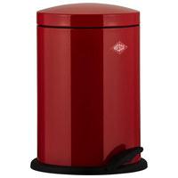 ABFALLSAMMLER 13 L  - Rot/Schwarz, Basics, Kunststoff/Metall (27/41cm) - Wesco