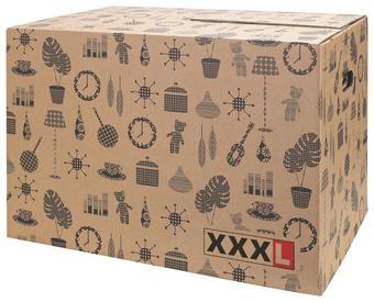 SELITVENI KARTON - rjava, Basics, karton - Boxxx