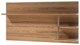 WANDBOARD Eiche furniert Eichefarben  - Eichefarben, KONVENTIONELL, Holz/Metall (184/96/29cm) - Cantus