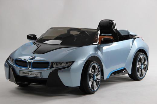 Kinderelektroauto Ride On BMW i8 Edition - Hellblau, Kunststoff (52/76/127cm)