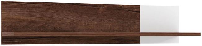 WANDBOARD in 120/25/25,5 cm Eichefarben  - Eichefarben, Design, Holzwerkstoff (120/25/25,5cm) - Carryhome