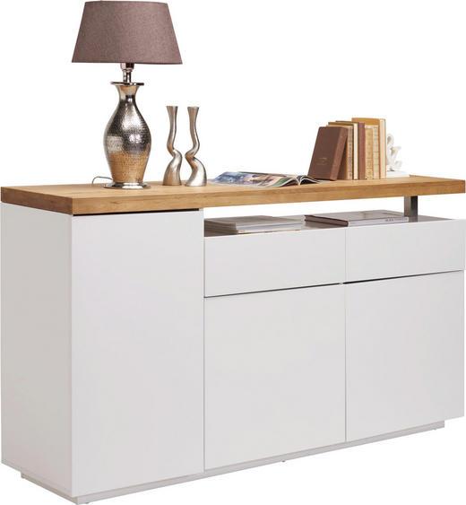 KOMMODE 170/92/43 cm - Eichefarben/Weiß, Design, Holz/Holzwerkstoff (170/92/43cm) - Novel