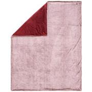 DEKA KOŽEŠINOVÁ - bordová, Basics, textil (150/200cm) - Novel