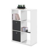 REGAL Weiß - Weiß, Basics (73/107/33cm) - CARRYHOME