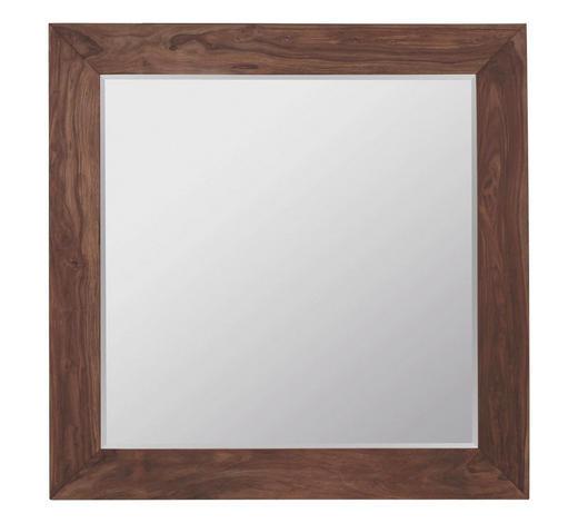 WANDSPIEGEL 180/180/6 cm - Braun, Design, Glas/Holz (180/180/6cm) - Ambia Home
