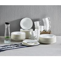 Fine China  DESSERTTELLER  rund  - Weiß, Basics, Keramik (21cm) - Villeroy & Boch