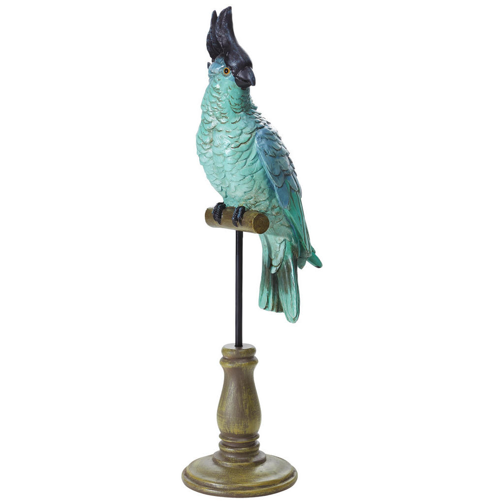 XXXL DEKOVOGEL, Grün | Dekoration > Figuren und Skulpturen > Tiere | Kunststoff | XXXL Shop