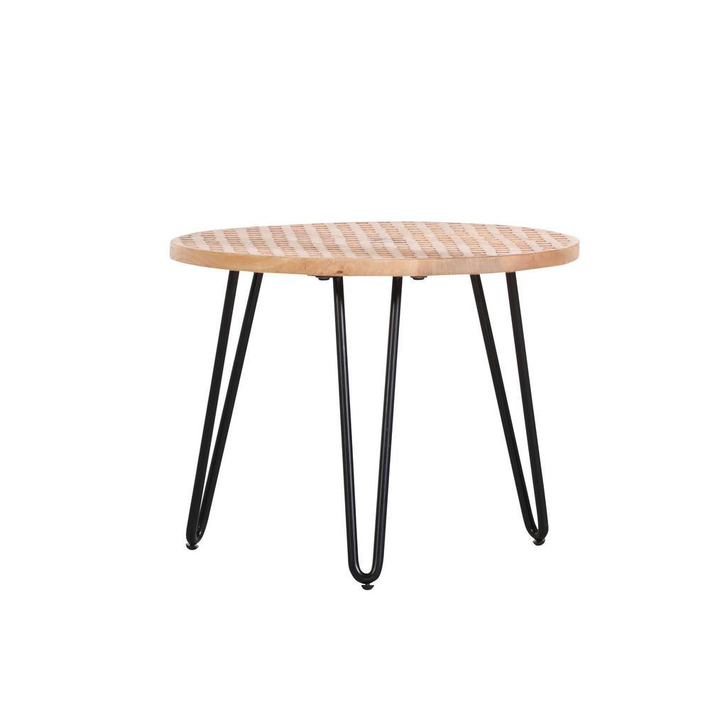Schwarz Metall Holz Beistelltische Online Kaufen Mobel