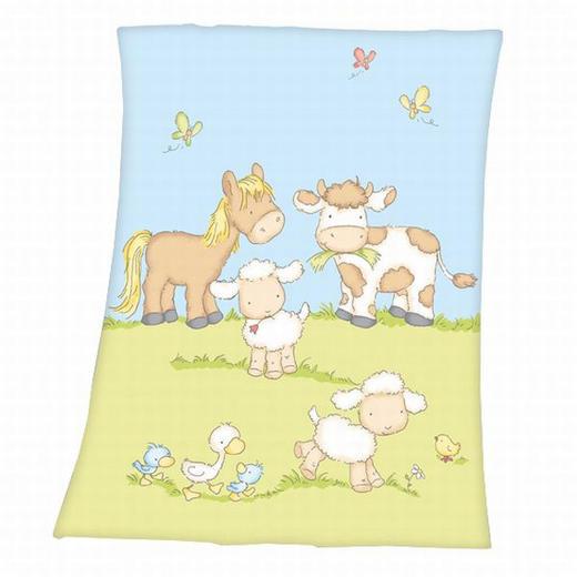 SCHMUSEDECKE - Multicolor, Basics, Textil (33/26/5.5cm) - Herding