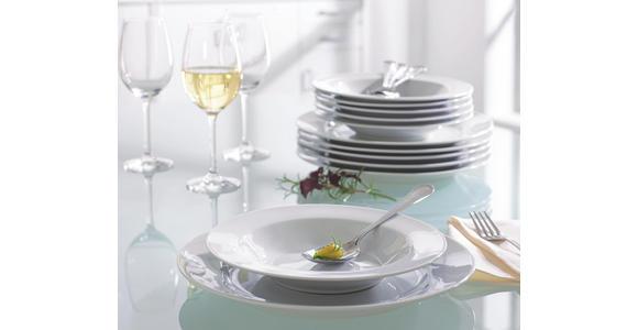 DESSERTTELLER 19 cm - Weiß, Basics, Keramik (19cm) - Boxxx
