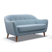 DVOSJED SOFA - plava, Design, drvo/tekstil (147/79/82cm) - TI`ME