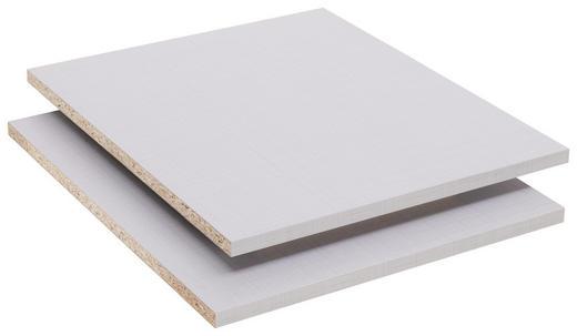 EINLEGEBODEN - Grau, Design, Holzwerkstoff (27/2/44cm) - Xora