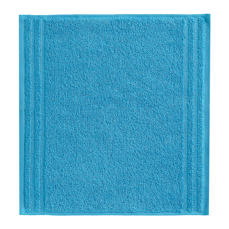 SEIFTUCH - Türkis, Basics, Textil (30/30cm) - VOSSEN