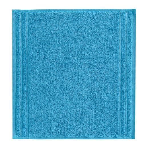 SEIFTUCH  Türkis - Türkis, Basics, Textil (30/30cm) - VOSSEN