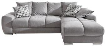 SJEDEĆA GARNITURA - boje kroma/svijetlo siva, Design, tekstil/plastika (271/181cm) - HOM IN
