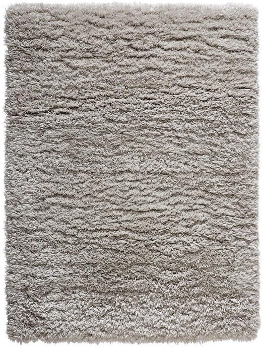 HOCHFLORTEPPICH - Silberfarben, KONVENTIONELL, Textil (60 110 cm) - Novel