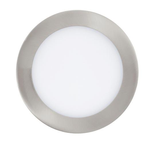 EINBAULEUCHTE Smart-Home - Nickelfarben, Design, Kunststoff/Metall (17/3cm)
