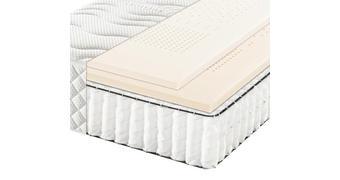 LEŽIŠČE Z ŽEPKASTIM VZMETENJEM - bela, Basics, tekstil (90/200cm) - Bentley