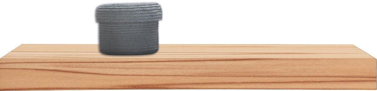 WANDBOARD Kernbuche furniert Buchefarben - Buchefarben, Basics, Holz (60/25cm)