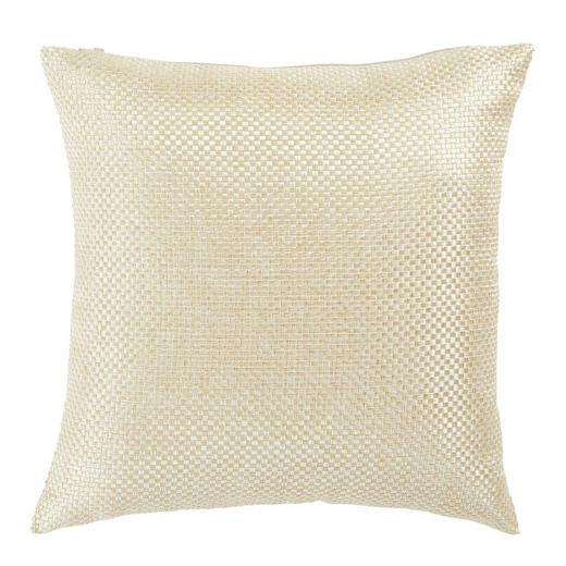 KISSENHÜLLE Creme 40/40 cm - Creme, Design, Textil (40/40cm) - Novel