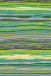 WEBTEPPICH  160/230 cm  Blau, Gelb, Grau, Grün, Schwarz, Weiß - Blau/Gelb, Textil (160/230cm) - Novel