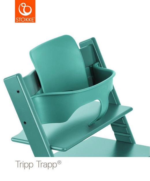 Tripp Trapp Baby Set Aqua Blue - Basics, Kunststoff (43/19/22cm) - Stokke