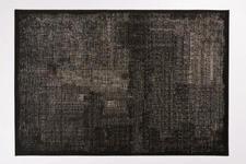 FLACHWEBETEPPICH  68/120 cm  Schwarz - Schwarz, Textil (68/120cm) - Novel