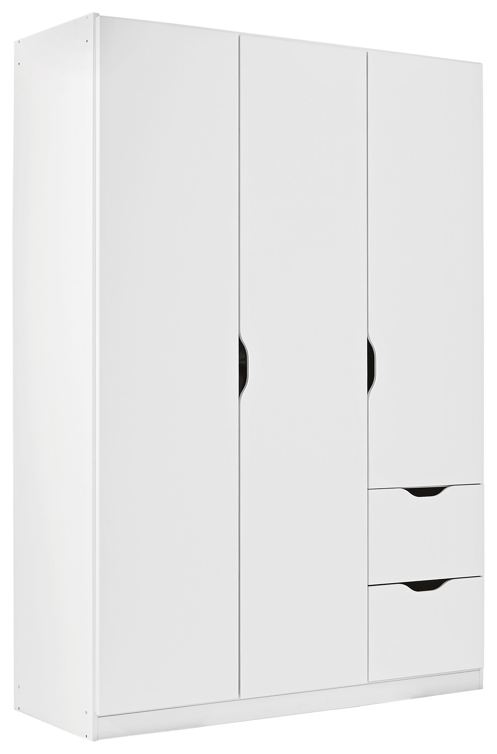 Captivating SCHRANK 3  Türig Weiß   Weiß, KONVENTIONELL, Holzwerkstoff (136/197/ Ideas