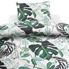 PÅSLAKANSET - ljusgrön/vit, Basics, textil (150/210cm)
