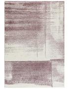 WEBTEPPICH - Lila/Creme, KONVENTIONELL, Textil (67/130cm) - Novel