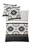 BETTWÄSCHE MIT WENDEFUNKTION 140/200 cm - Beige, Design, Textil (140/200cm) - KLEINE WOLKE