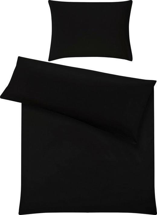 BETTWÄSCHE - Schwarz, Basics, Textil (140/200cm) - Fussenegger